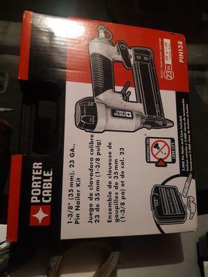 1 3/8 23 gauge nail gun kit for Sale in Long Beach, CA