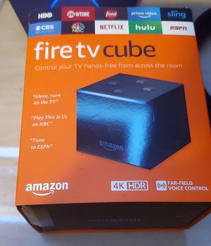 Amazon Fire Tv Cube 4K for Sale in Kent, WA