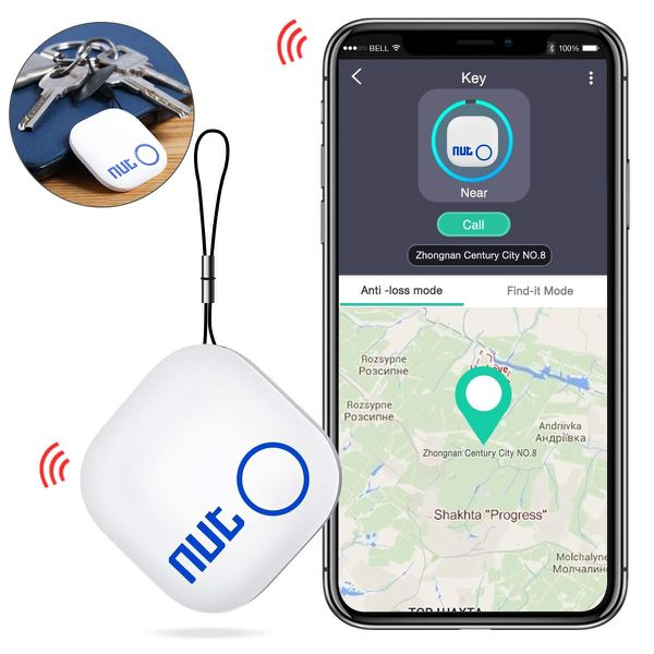 DinoFire Key Finder, Phone Finder with App Item Finder with Bluetooth Smart Tracker Locator