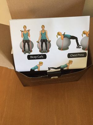 SOALPHA EXERCISE BALL BUNDLE for Sale in Columbia, MO