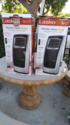 EACH FOR SALE NEW LASKO WHOLE ROOM MOTION HEAT PLUS ROTATE,FOR BIG ROOM,IF SOMEONE INTERESTED PLEASE TEXT ME ANY TIME SE HABLA ESPAÑOL for Sale in Los Angeles, CA
