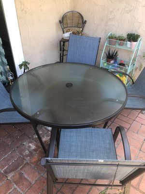 Patio set, dining table and chairs for Sale in San Diego, CA
