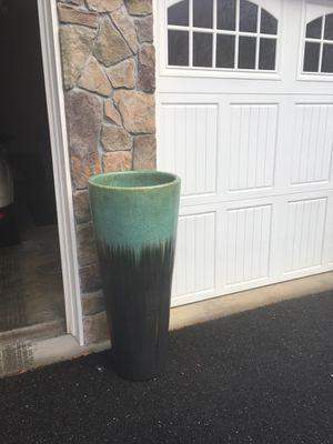 Tall ceramic flower pot for Sale in Oakton, VA