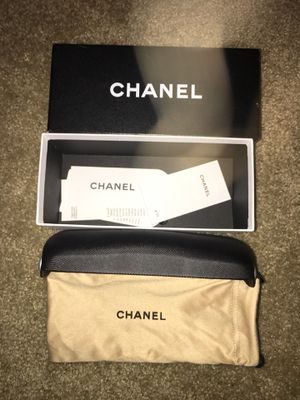 Chanel sunglass bag, holder and box. No glasses. Never used for Sale in Mesa, AZ