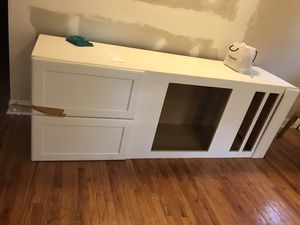 Kitchen cabinet (ceiling to floor) leftover from kitchen remodel. $60. Durham. Must pick up for Sale in Durham, NC