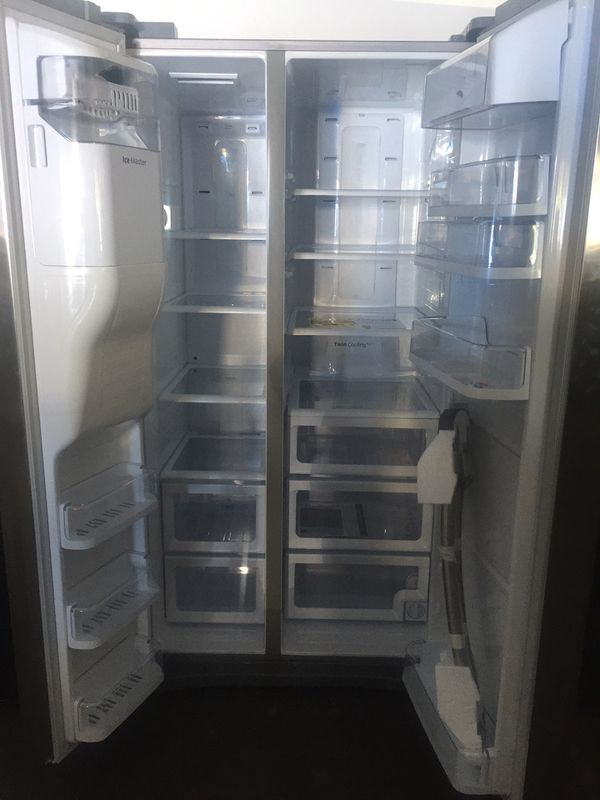 Samsung Stainless Steel Side By Side Refrigerator