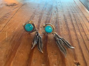 Sterling silver turquoise earrings for Sale in Bend, OR