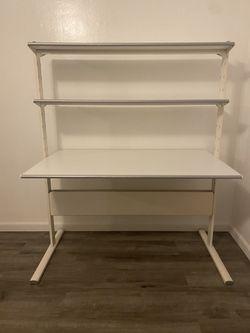 White Desk 3 tiers for Sale in Glendale,  CA