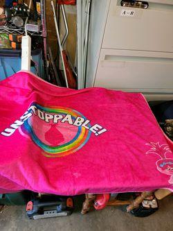 Poppy trolls blanket for Sale in Auburn,  WA