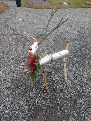 Birch Handmade Reindeer for Sale in Harmony, ME