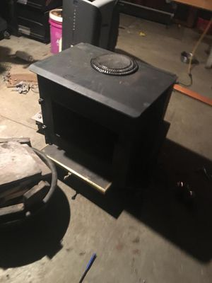 Wood burning stove with blower for Sale in Goddard, KS