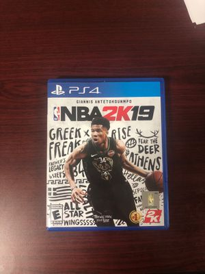 NBA 2k19 for Sale in Normal, IL