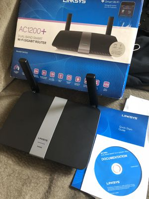 Linksys AC1200+ Dual Band WiFi Gigabit Router for Sale in Oregon City, OR