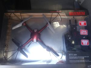 Red and black quadrocopter video drone for Sale in McGehee, AR