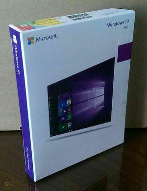 Microsoft Windows 10 Pro 64bit OEM For Laptop, Desktop for Sale in Boca Raton, FL