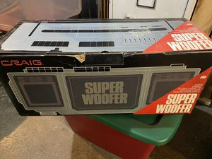 Craig Super Woofer for Sale in Columbus, OH