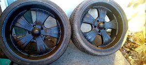 "22"" Kruz Snowdon Performance Wheels for Sale in Los Angeles, CA"