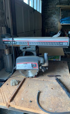 Craftsman Radial saw for Sale in Pleasant Gap, PA