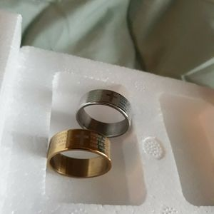 Set 2 Piece Cross Bible Wedding Ring, Size 10. for Sale in Dallas, TX