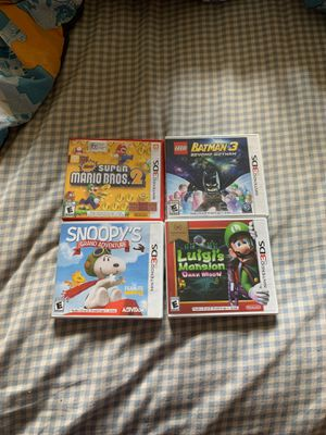 4 Nintendo 2Ds and 3Ds games for Sale in Middletown, MD