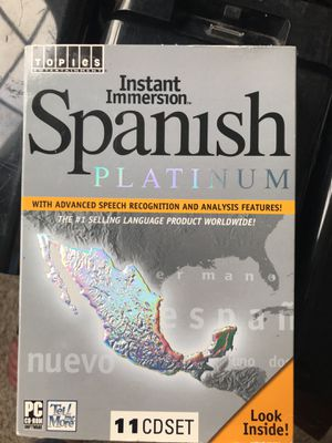 Spanish-learning software for Sale in Monroe, MI