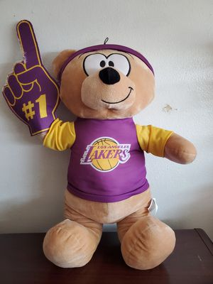 Lakers teddy bear for Sale in Montclair, CA