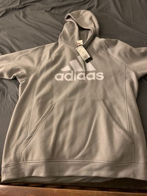 Grey adidas hoodie for Sale in Downers Grove, IL