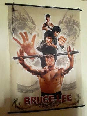 Bruce Lee fabric poster for Sale in Los Angeles, CA