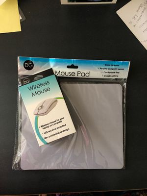 Wireless mouse and pad for Sale in Arcata, CA