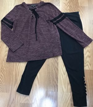 Ladies Women's Clothes L/S Top Shirt & Leggings Pants Size L/XL for Sale in Spring, TX
