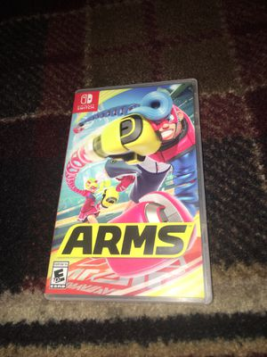 ARMS - Nintendo SWITCH video game - USED for Sale in Stockton, CA