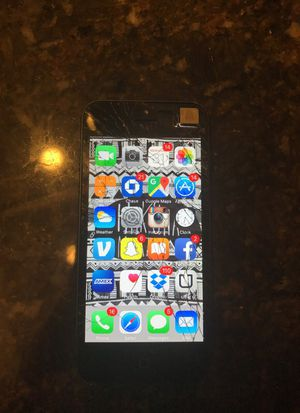 iPhone 5 - AT&T - Cracked Screen for Sale in Houston, TX