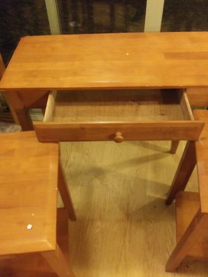 Three scatter tables with drawer for Sale in Reynoldsburg, OH