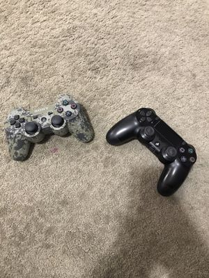 Ps4 and ps3 controllers. for Sale in North Las Vegas, NV