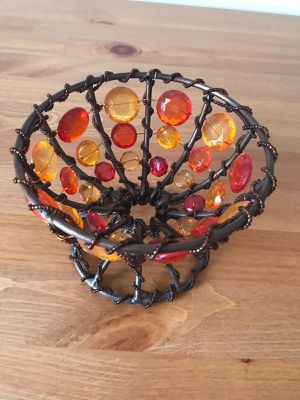 Handmade Authentic bowl and candle holder for Sale in Vienna, VA