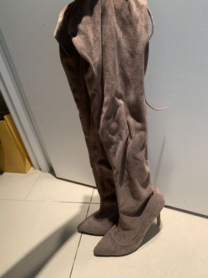 Thigh high heel boots for Sale in Las Vegas, NV