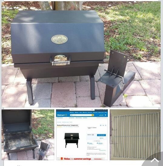 Backyard Classic 2 in 1 Tailgate Charcoal Grill for Sale ...