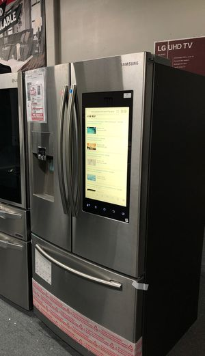 Samsung 26 ft.³ French door refrigerator stainless steel original price $3110 our price $1999 only for Sale in Oakland, CA