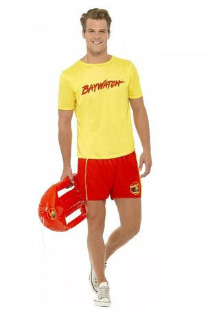 Men's Baywatch Lifeguard Halloween Costume Adult Male Large for Sale in Pinellas Park, FL
