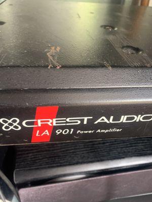 Crest audio power amplifier for Sale in Eldersburg, MD