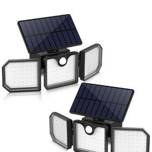 2Packs — 230 LED Solar Motion Sensor Light Outdoor, IP65 Waterproof (NEW) $65 for Sale in Garden Grove, CA