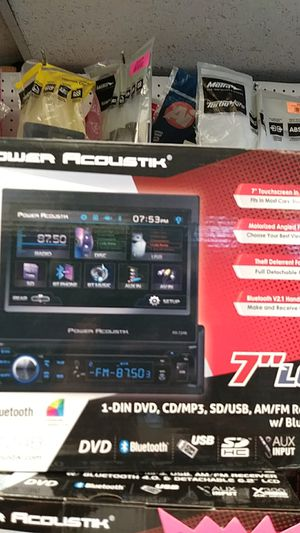 Power acoustic dvd car player for Sale in Dallas, TX