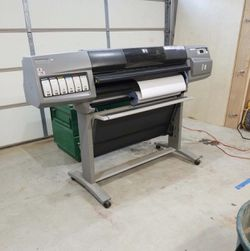 Hp design jet printer for Sale in Happy Valley,  OR