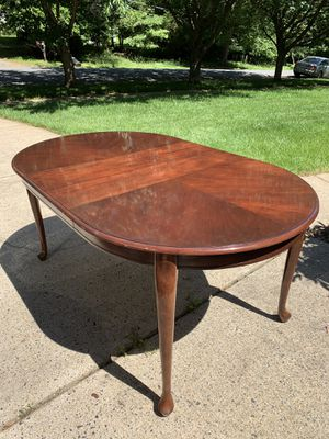 """Dining table for six (L 65"""" & W 40"""") for Sale in Vienna, VA"""