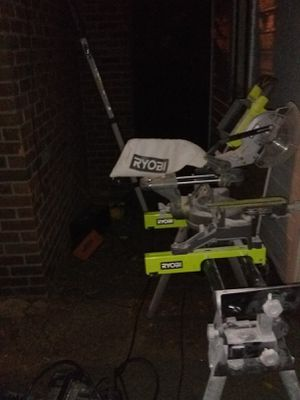 Ryobi Saw and table for Sale in Detroit, MI