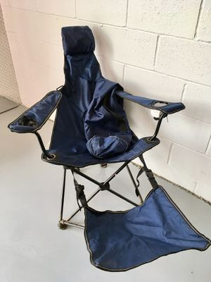 Folding Camp Chair with Footrest for Sale in Arlington, VA