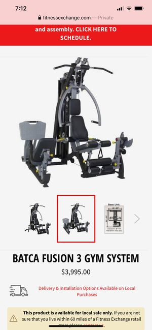 Home gym (200 lb weight stack) for Sale in Fort Lauderdale, FL