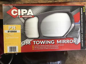 Cipa towing mirrors for Sale in Minooka, IL