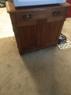 Wooden cabinet/stand for Sale in Norfolk, VA