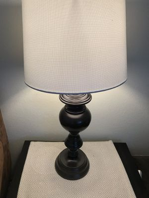 Two table lamps with new lamp shades for Sale in San Diego, CA